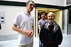 Wessel Kraaij (l) and Stephen Robertson (r) in good mood